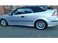Saab convertible service history long mot cheap on fuel tax leather seat aloy cd tidy £1120
