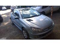 Peugeot 20 2005-05-Plate6 CC Zest Convertable 1.6 Petrol