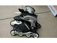 Airwalk inline skates and Skate Protection bundle uk 6 size