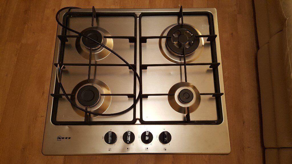 NEFF T26BB56N0 Gas Hob - Silver