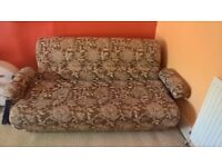 Sofa Bed...needs a home. And it's only £30!