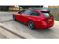 2016 (65) BMW 335D XDRIVE TOURING M SPORT LOW MILES STUNNING MAY PX RS3 S3 GOLFR