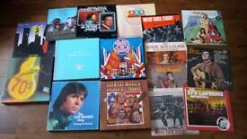 MASSIVE VINYL RECORDS COLLECTION 60'S 70'S 80'S POP ROCK EASY LISTENING ALBUMS BOX SETS