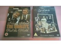 2 classic boxsets Never mind the quality feel the width,and The Larkins