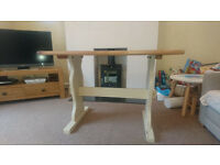 Beautiful pine table - shabby chic effect
