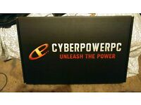 CYBERPOWER 17 INCH i7 8GB EXTREME GAMING LAPTOP FANGBOOK 4 BRAND NEW retails £930