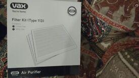 Vax HEPA Filter Kit type 113 BRAND NEW