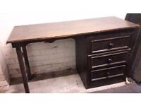 large wooden desk for free, needs to be collected as soon as possible