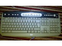 HP KEYBOARD WITH PC/TOWERCASE I/O CONNECTER
