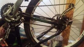 Forks alone worth 300 thats used hopefront and bk hydrolic breaks continental front and bk tyres