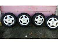 Vauxhall Corsa B Sxi wheels