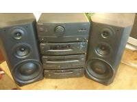 Technics Stereo Stacking HiFi with Speakers