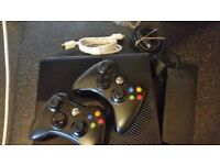 Xbox 360 console 2 controllers 2 kinects with 50 games on hard drive.