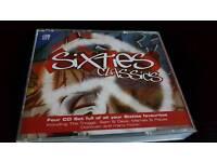 SIXTIES CLASSICS.4 CDS BOX SET.NEW.