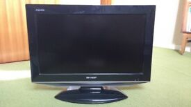 Sharp 20 inch LCD TV (for spares or repair)