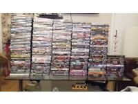 255 brilliant dvds including 22 blurays. all dvds are in workig order. buy in bulk or 60p each