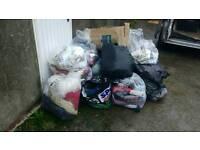Clothes joblot 25+ black bags