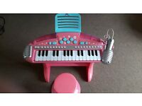 Early learning keyboard – pink