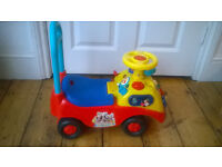 Disney Baby Walker, Push Along and Ride On