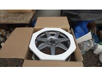 "4 x prodrive speedline 17"" rims for classic shape subaru impreza(and some other cars also)"