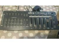 chauvet Dj Obey 6 Dmx controlller
