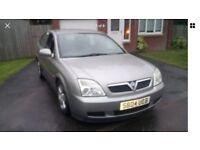2004 Vauxhall Vectra Club DTI, Diesel, Manual, ONLY 58,000 miles & full 1 years MOT