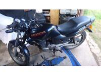 Honda CBZ125 facelift CG