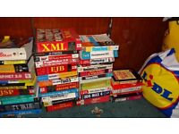 Job Lots Offic Clearance comes from training centre Various technical Books for Web site developer