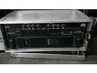 MATRIX XTR5000G Amp + XT800 AMP + DBX223XL Crossover