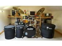 Mapex voyager 5 piece drum kit