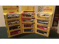 6 x Shell Sportscar Collection + 6 x Maisto Supercar Collection