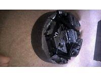 Vauxhall Astra wheel change tool kit. Missing screwdriver.