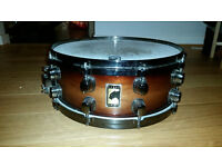 Mapex Black Panther Deep Forest Walnut 14x5.5 Snare Drum w/case