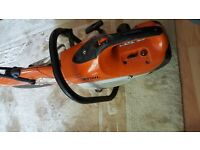 STIHL SAW TS 410. LASTEST MODEL. QUICK SALE. NO TIME WASTERS. £350