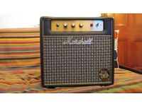 Limited edition 50th Anniversary issue Marshall JMP1-C Combo 1W Tube Amplifier
