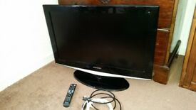 """Samsung 32"""" LCD TV with Stand and Remote"""