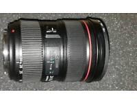 Canon 24-70 f2.8 L II USM lens