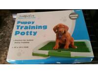 Puppy training potty brand new in box