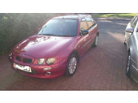 Low mileage Rover 25 with new service and 12 month MOT
