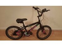 Apollo Boogie Girls BMX Bike. 18 inch wheels, (Suit age: 5 to 8 years).