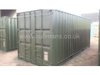 20ft - refurbished / repainted shipping container, steel container, storage container for sale