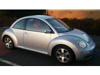 VW Volkswagen Beetle 1.6 Petrol Luna 3 door Silver 91,500 miles FSH and bills