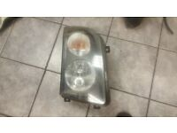 2009 VW VOLKSWAGEN CRAFTER DRIVER OFF SIDE HEAD LIGHT COMPLETE