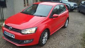 VW Polo SEL 1.4 Petrol 2009 (59) Red