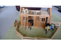 Horse and Pony Lovers! Toy Stable