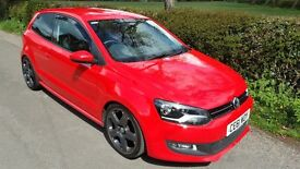 "VW POLO 1.4 ""MATCH""LTD EDITION WITH UPGRADE 17"" ALLOYS, LOW PROFILE TYRES,LOWERED SUSPENSION,SUPURB"