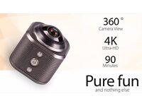 360° Camera, 4k (very high definition), waterproof case, tripod.