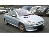 Peugeot 206cc low mileage