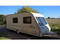 1999 COMPASS RALLYE GTE 4 BERTH WITH AWNING,CRIS REGISTERED END BATHROOM
