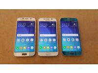 SAMSUNG GALAXY S6 32GB UNLOCKED WITH RECEIPT